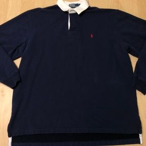 Mens Polo By Ralph Lauren Sweatshirt Jacket Navy